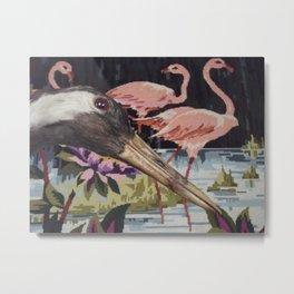 Wise Bird Metal Print
