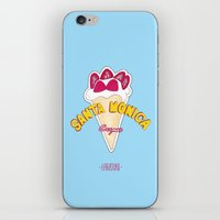santa monica iPhone & iPod Skins featuring santa monica by DSD - Details Studio Design