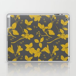 Drawings from Stonecrop Garden, Pattern in Gold & Grey Laptop & iPad Skin