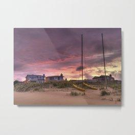 Sunset after Hurricane Florence Metal Print