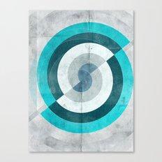 Blue Chaos Canvas Print