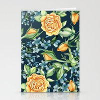 roses Stationery Cards featuring Roses by Julia Badeeva