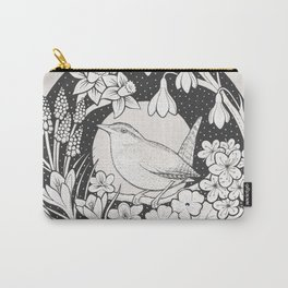 Spring Wren Carry-All Pouch