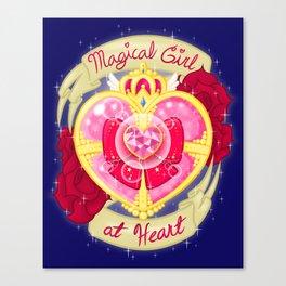 Magical Girl At Heart Canvas Print