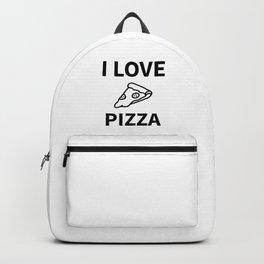 I Love My Pizza Backpack