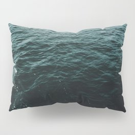 Dark waters of Lake Ontario Pillow Sham