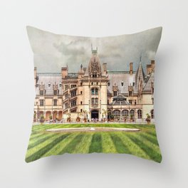 The Biltmore Throw Pillow