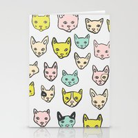 kittens Stationery Cards featuring Kittens by Elisa Mac