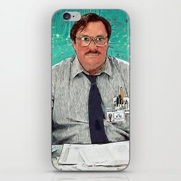 Milton - Office Space iPhone Skin
