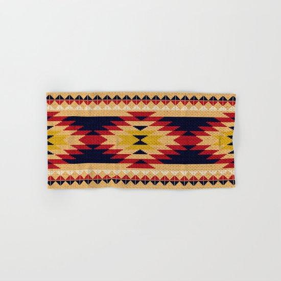 Aztec pattern Hand & Bath Towel