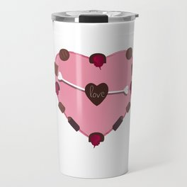 CHOCOLATES FROM THE HEART Travel Mug