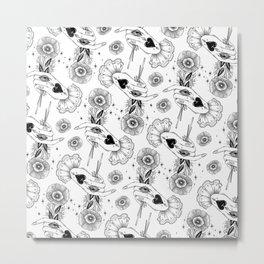a Kind Flower Metal Print