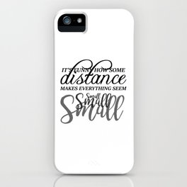 Distance iPhone Case