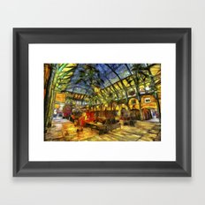 Covent Garden Van Gogh Framed Art Print