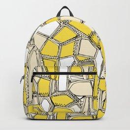BROKEN POP lemon Backpack