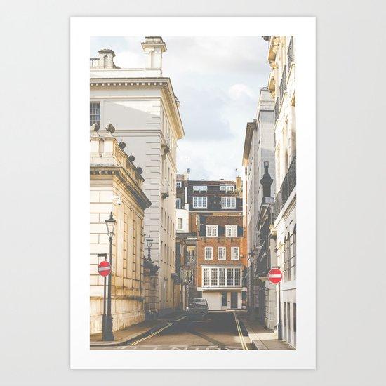 Vintage London Art Print