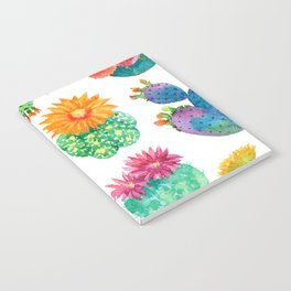 Watercolor cactuses Notebook
