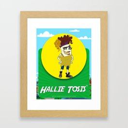 Hallie Tosis Framed Art Print