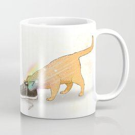 For Cats, Shoes are Wormholes to Other Universes Coffee Mug