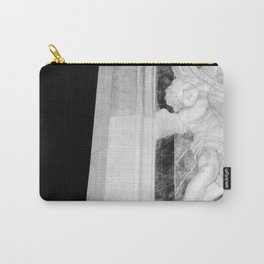 Angel in St Peters Photograph by Larry Simpson Carry-All Pouch