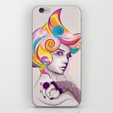 I AM MY FAVORITE COLOR iPhone & iPod Skin