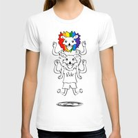bisexual T-shirts featuring Gay Pride Lions by mailboxdisco
