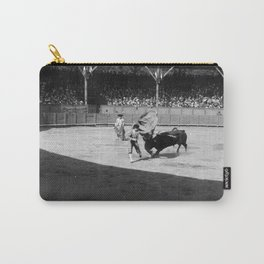 Torero black white Carry-All Pouch