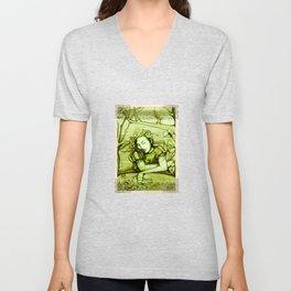 Romantic Ophelia Unisex V-Neck