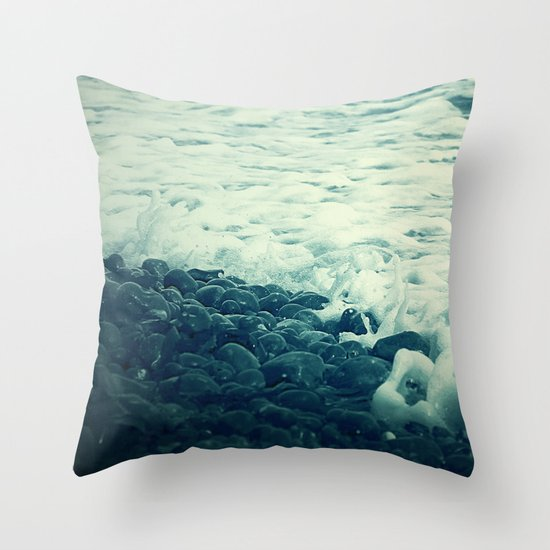 The Sea V. Throw Pillow