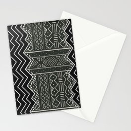 African Tribal Pattern No. 118 Stationery Cards
