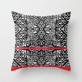 Urban Pattern Throw Pillow