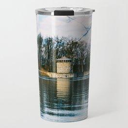 Möhne Reservoir Lake Tower Travel Mug
