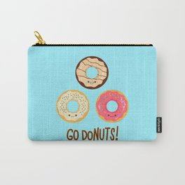 Go doNUTS! Carry-All Pouch