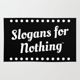 Slogans for Nothing: Dots Rug