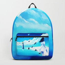 Lighthouse At The Sea Backpack