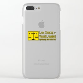 Law Offices of Vincent L Gambini Clear iPhone Case