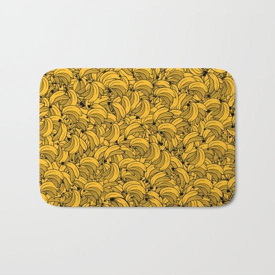 Plenty of Bananas - Yellow Bath Mat