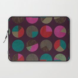 dots and shreds and colors Laptop Sleeve
