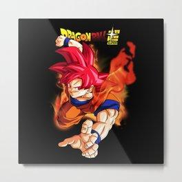 Super Saiyan Goku 00045 Metal Print