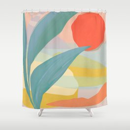 Shapes and Layers no.33 Shower Curtain