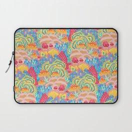 Fungi World (Mushroom world) -PINK Laptop Sleeve