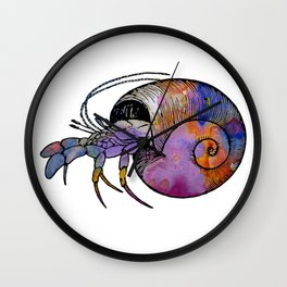 Hermit Crab Wall Clock