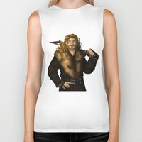 fili Biker Tanks featuring Fili in Red by wolfanita