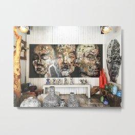 Chatuchak Art Metal Print