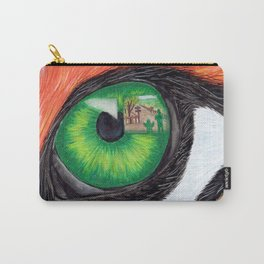 Through the eyes of a Tiger Carry-All Pouch