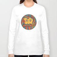 circle Long Sleeve T-shirts featuring Circle by Brad Hansen