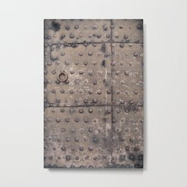 Old Iron Door Metal Print