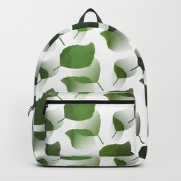 Tumbling Green Leaves Backpack