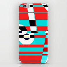 Grid Square TV Crazy iPhone & iPod Skin