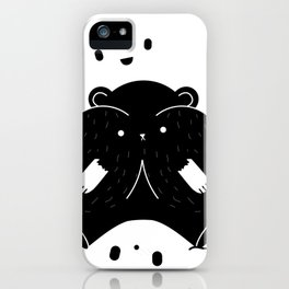 IMMIGRANT BEARS iPhone Case